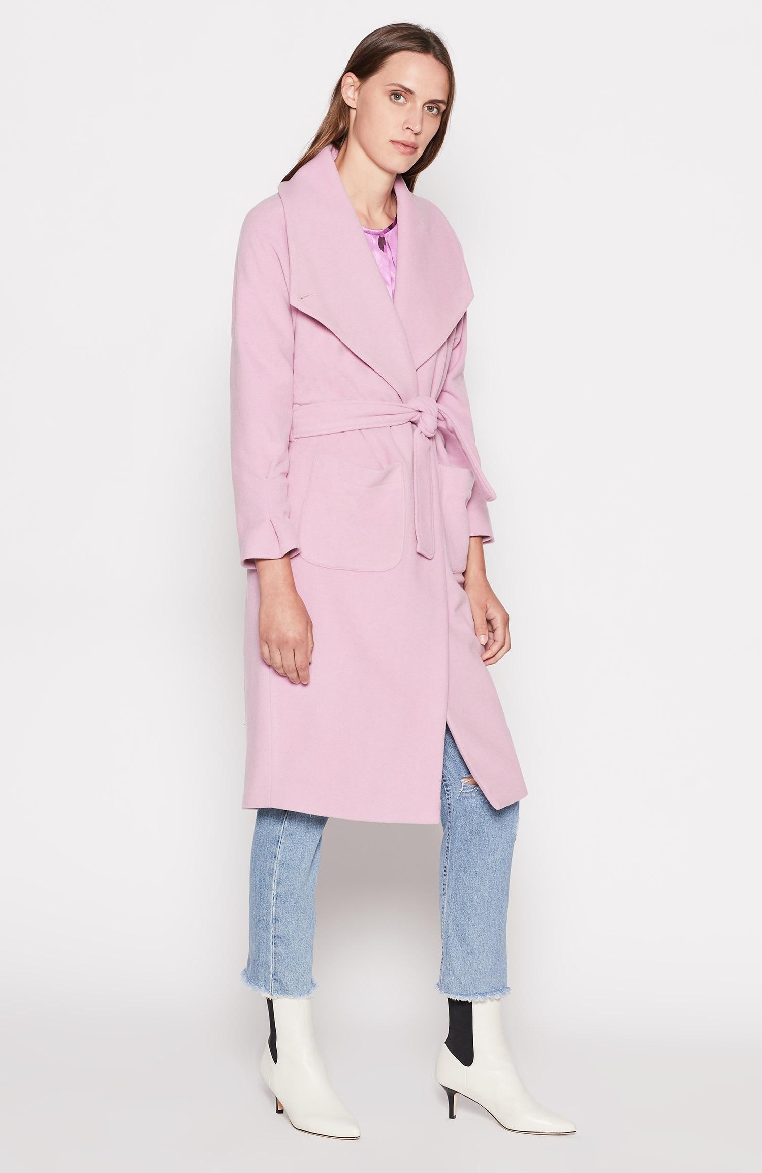 Joie Johnette Coat in Pink - Lyst fcaa1ec07