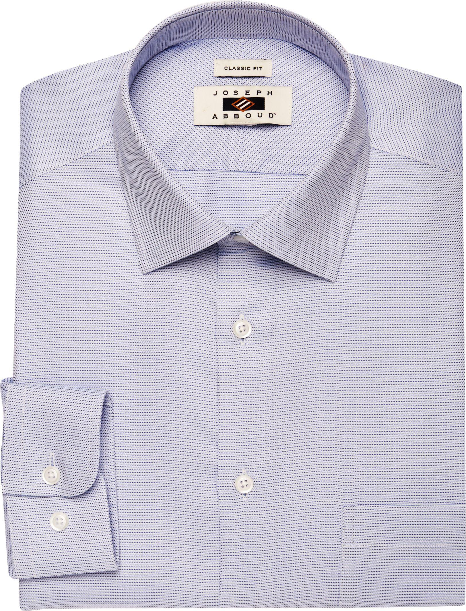 Lyst jos a bank joseph abboud traditional fit point for Joseph banks dress shirts