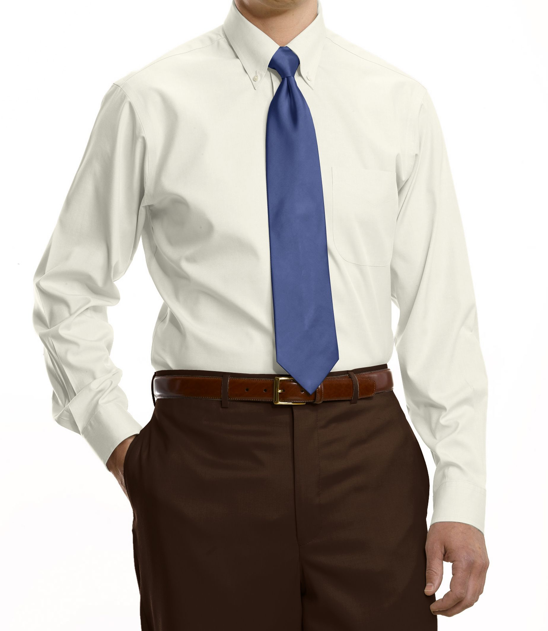 Jos a bank traveller collection tailored fit button down for Tailored fit dress shirts