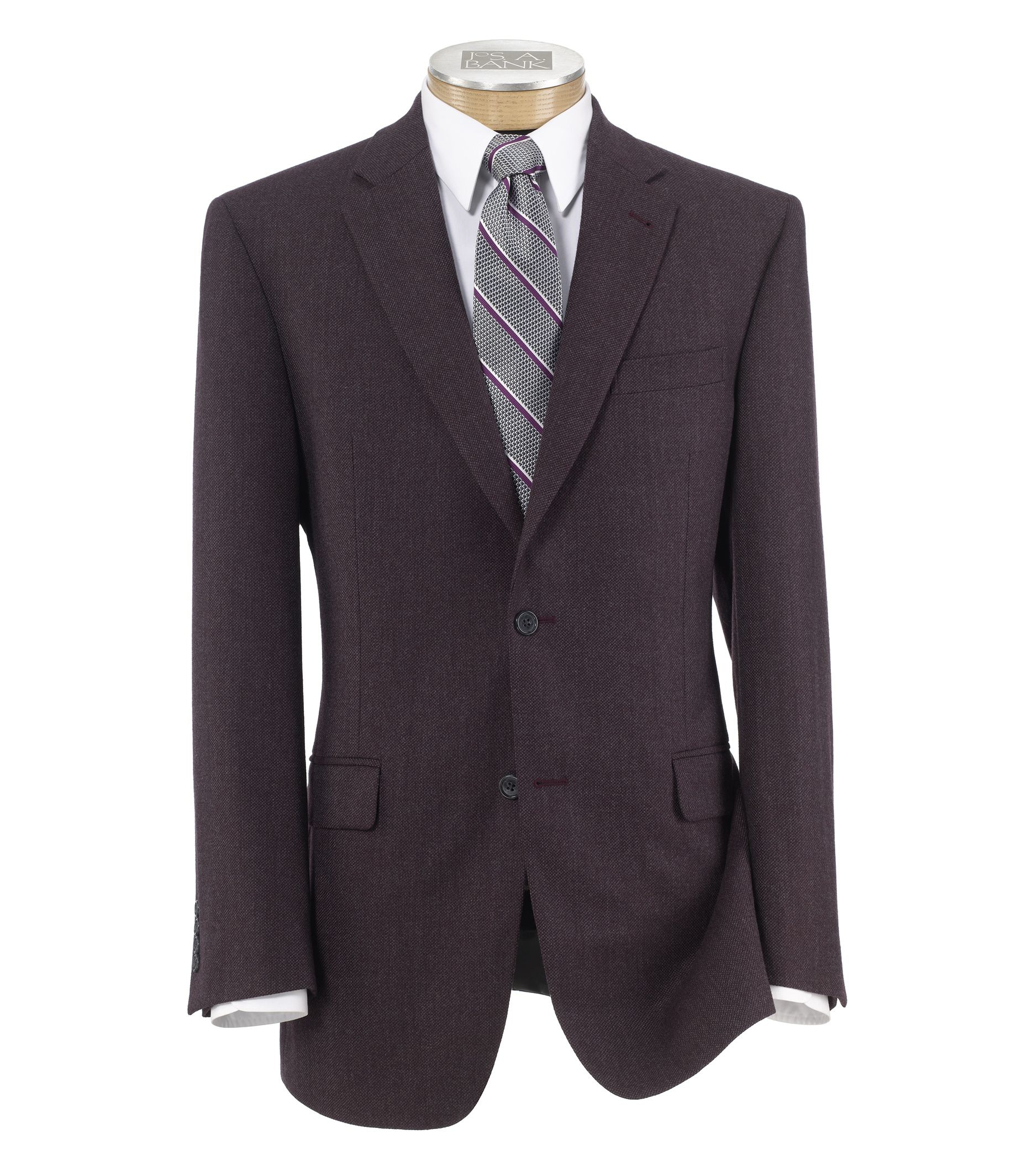 jos a bank signature tailored fit sportcoat clearance in