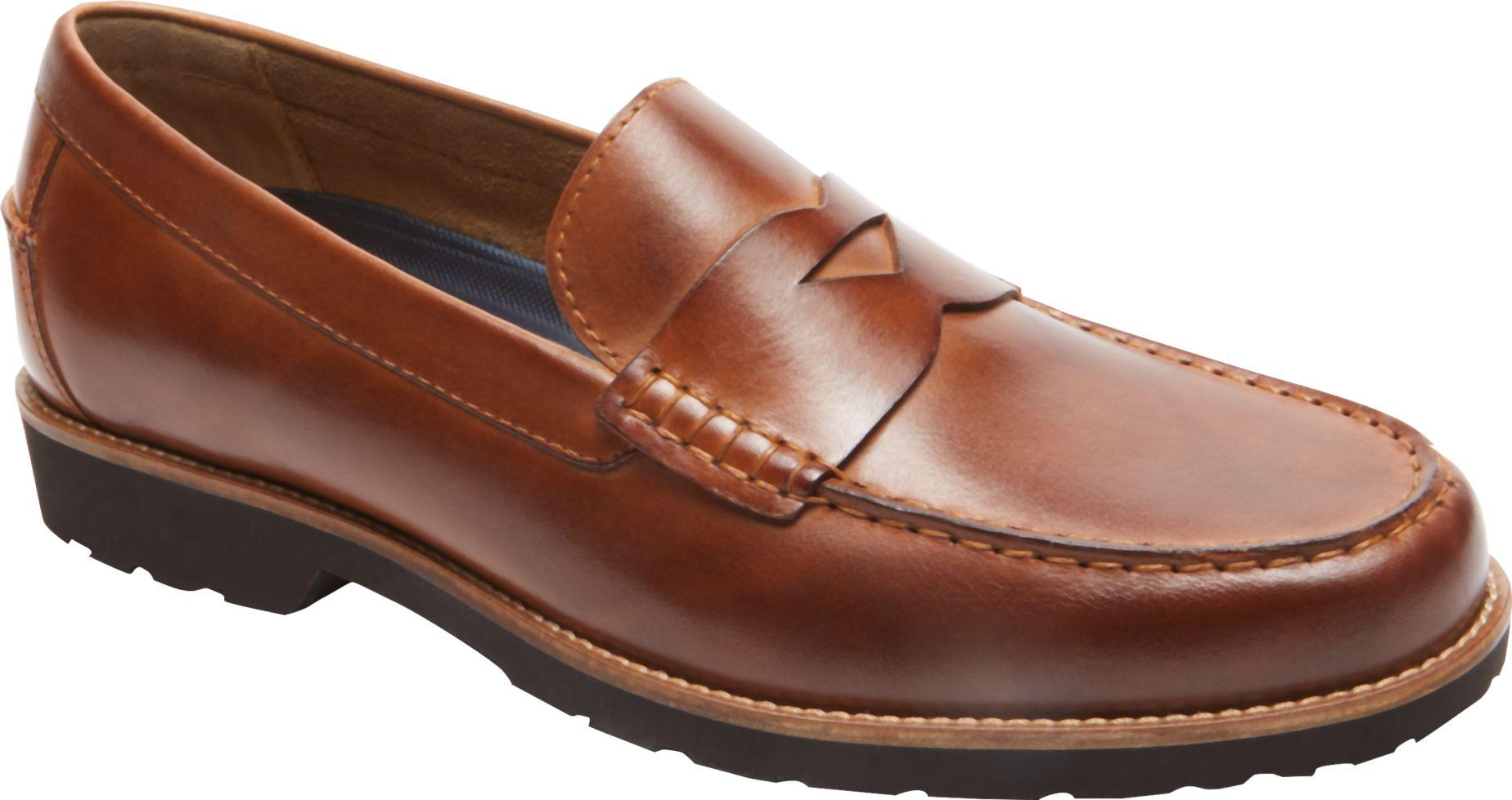 Jos. A. Bank Leather Style Seeker Penny Loafer By Rockport ...