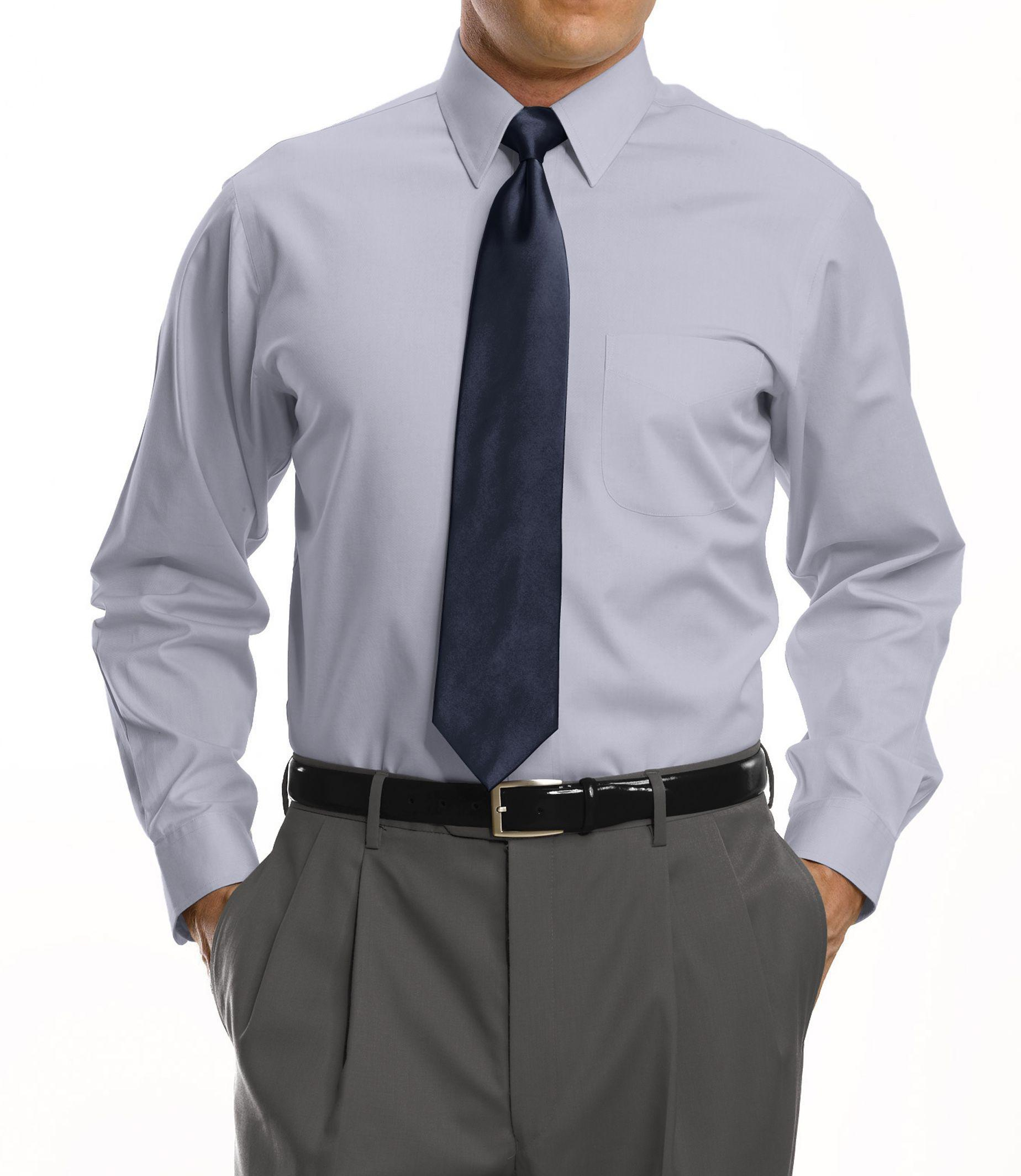 Jos a bank traveller collection tailored fit point for Tailored fit dress shirts