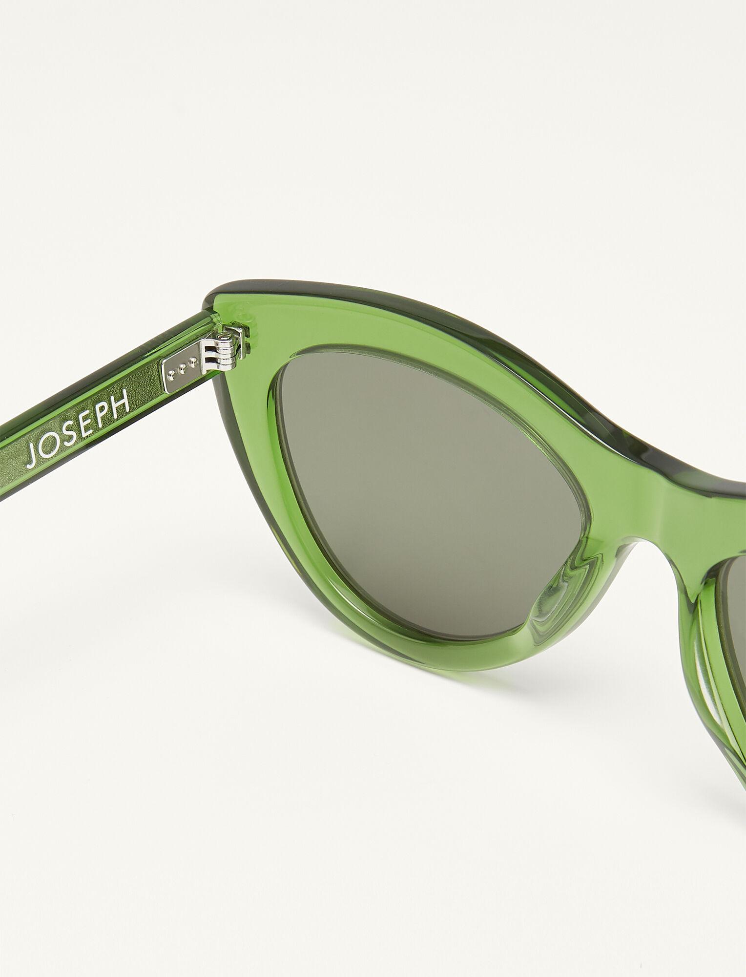 JOSEPH Montaigne Sunglasses in Green