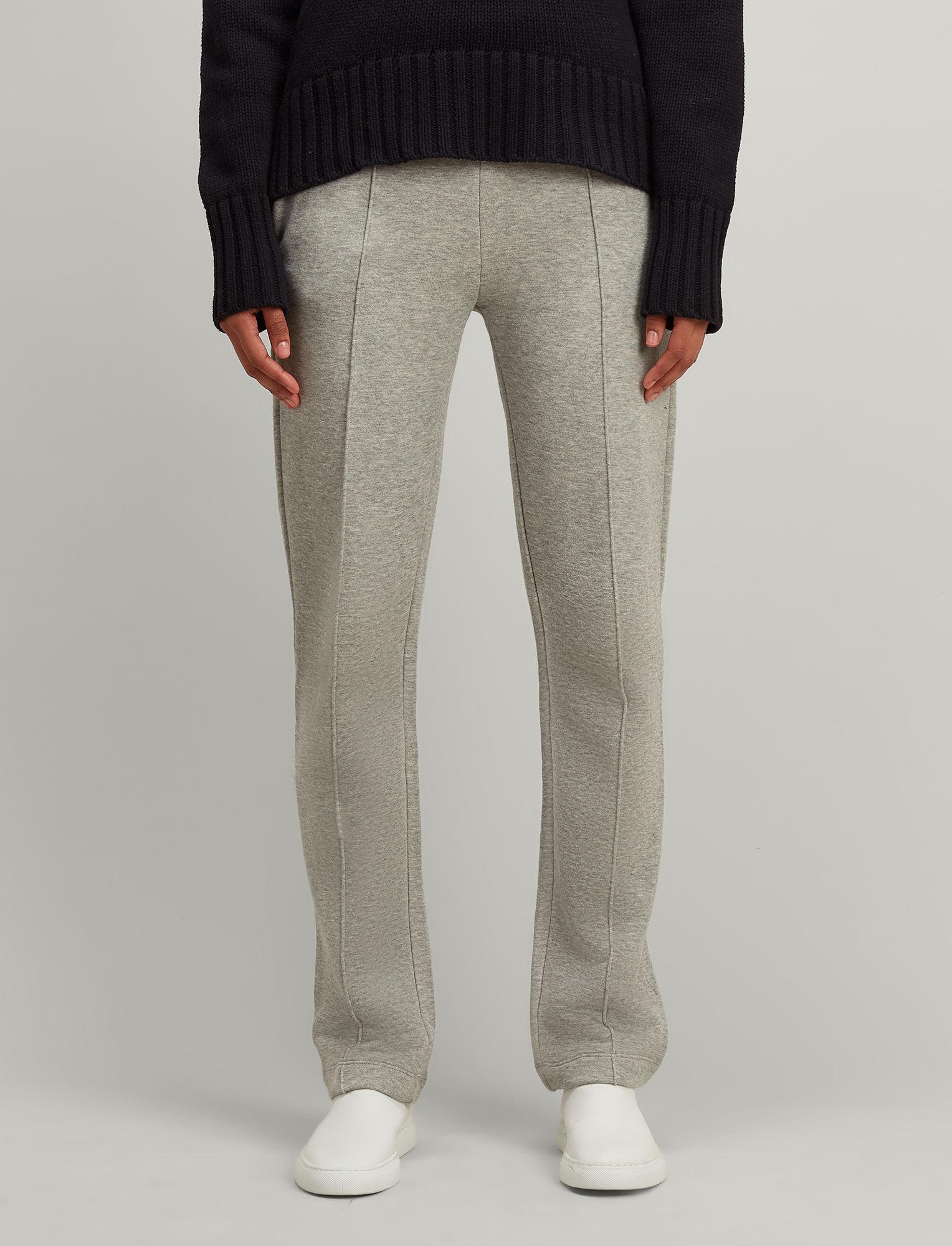 JOSEPH Cotton Molleton Jersey Jog Pant in Grey for Men