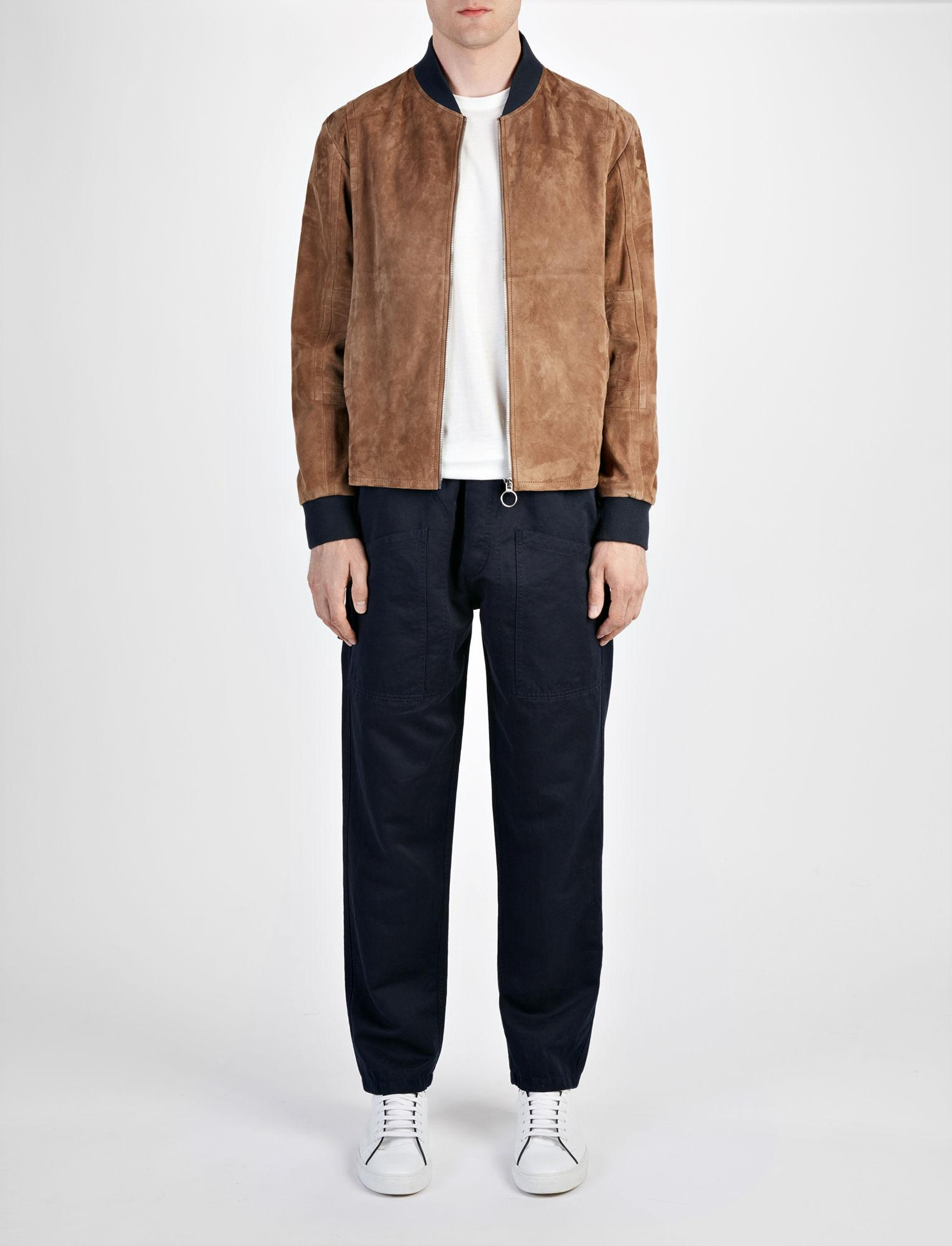 JOSEPH Cashmere Suede Kendal Jacket in Clay (Brown) for Men