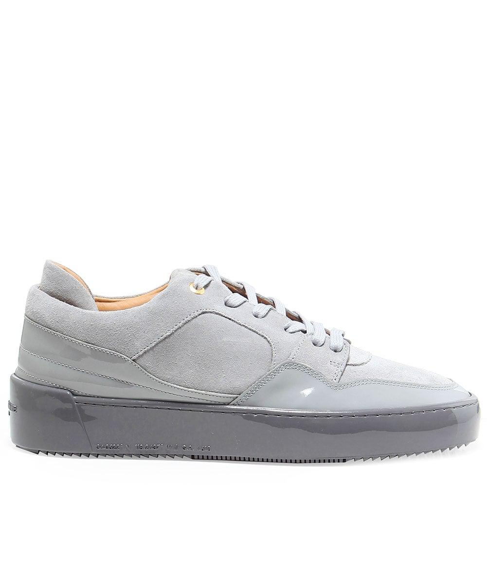 Android Homme Suede Omega Trainers in Grey (Grey) for Men