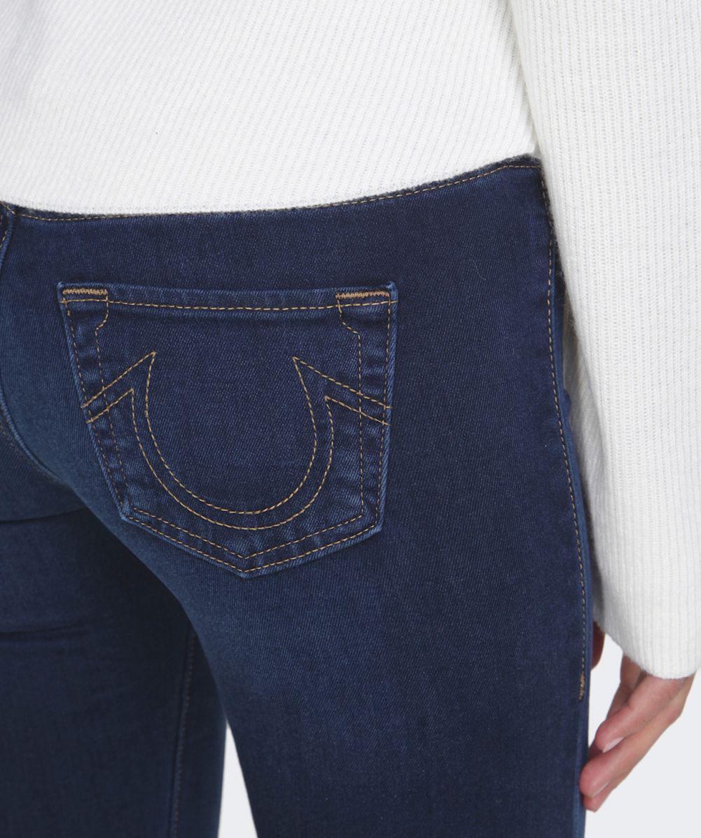 True Religion Denim Runway Flare Jeans in Indigo (Blue)