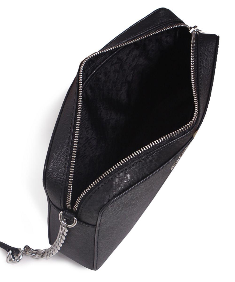 MICHAEL Michael Kors Jet Set Crossbody Bag in Black