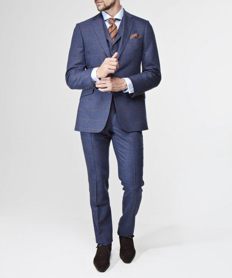 Jules B Mautby Trousers in Blue for Men