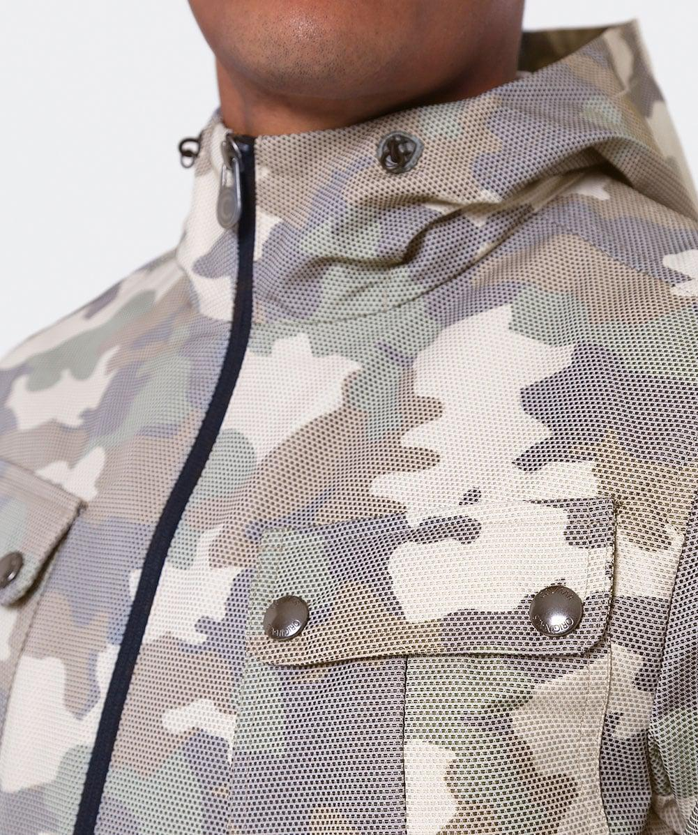 Colmar Synthetic Camouflage Shell Jacket for Men
