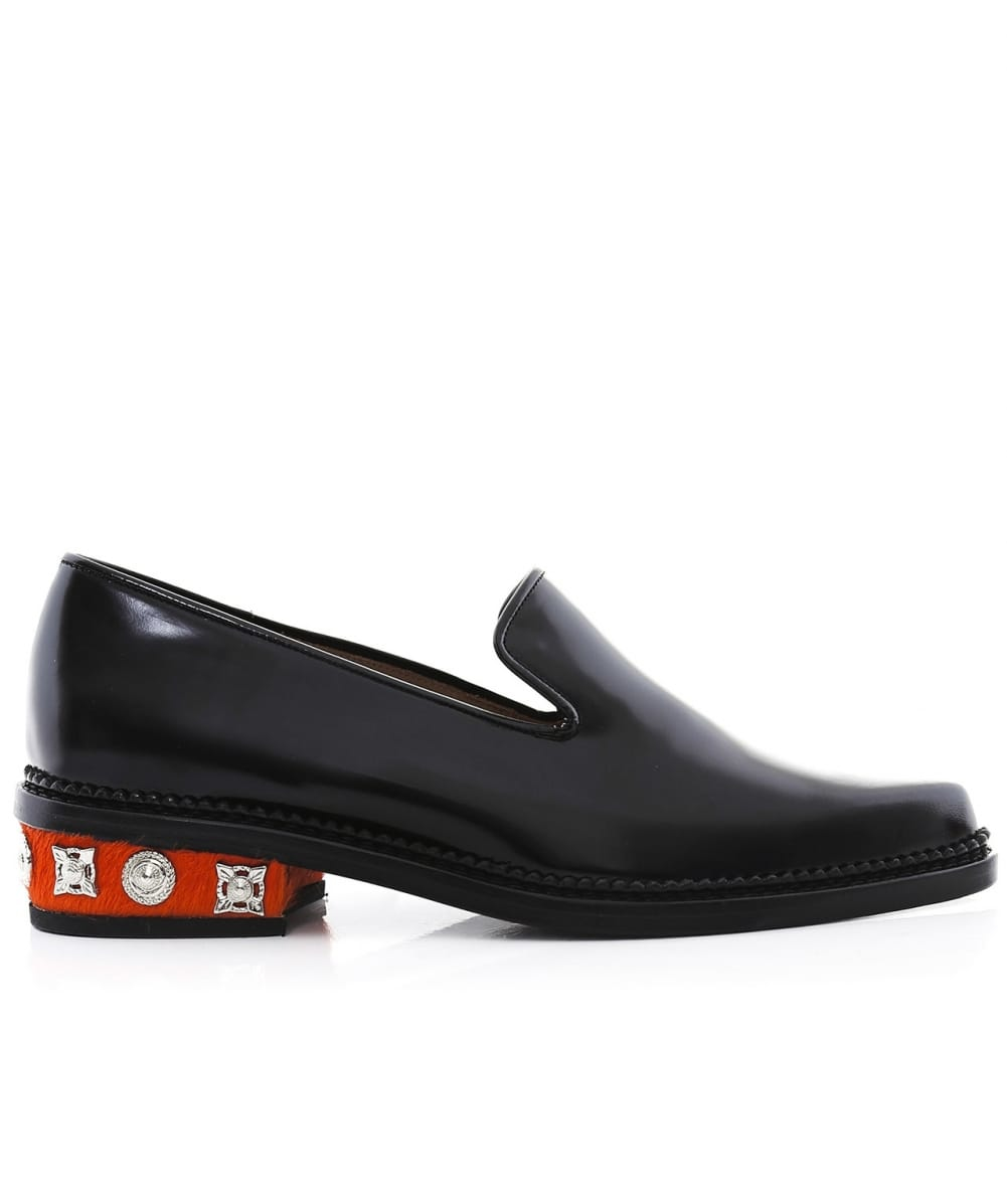 Toga pulla Embellished Loafers in Black