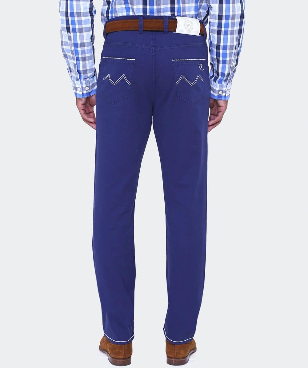 Mancini Denim Slim Fit Carlos Jeans in Navy (Blue) for Men