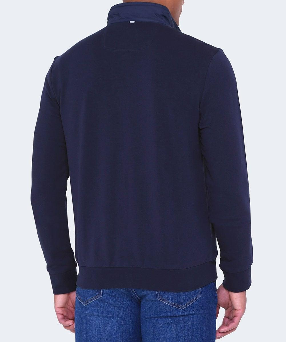 Hackett Nylon Front Aston Martin Racing Jacket In Blue For
