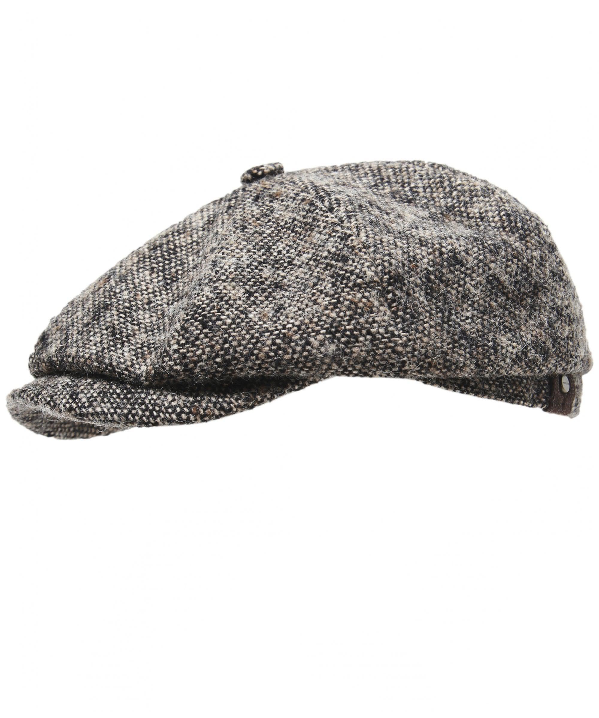 Lyst Stetson Virgin Wool Hatteras Donegal Cap In Black For Men 3e4ad874c44a