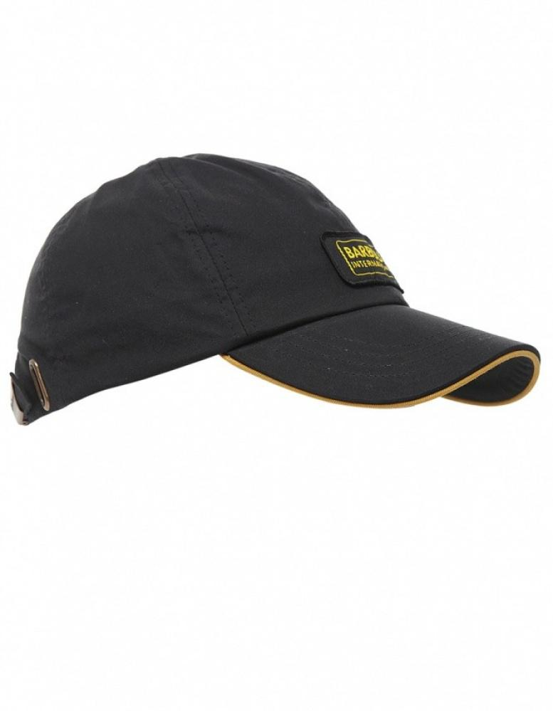 d6188955aeb793 Barbour Waxed Cotton Cap in Black for Men - Lyst
