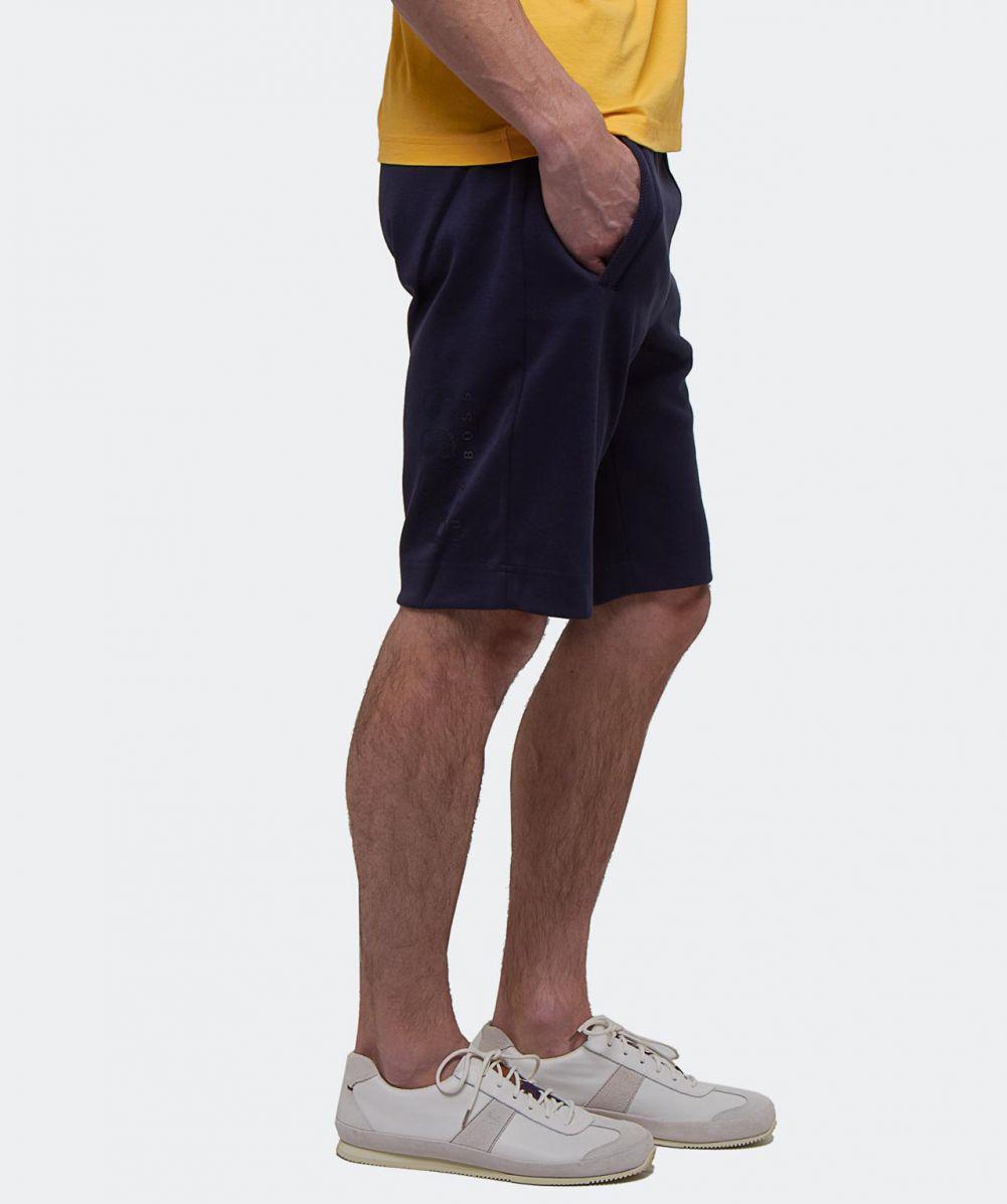 BOSS Headlo Sweat Short in Navy