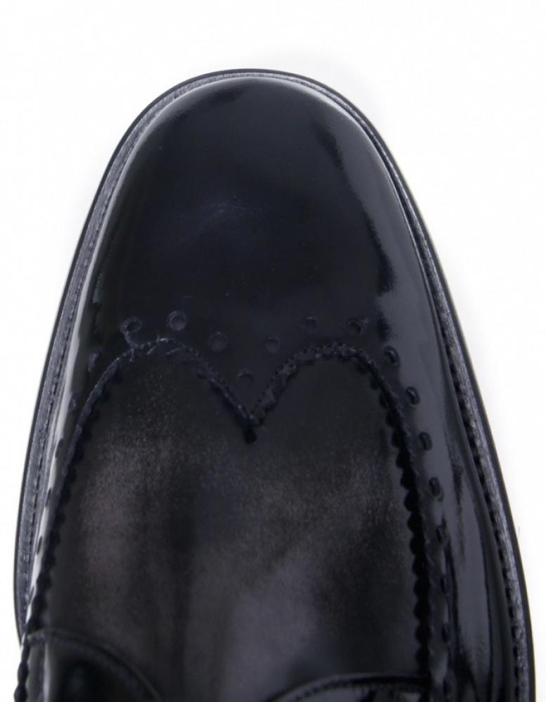 Jeffery West Formal College Shoes in Black for Men