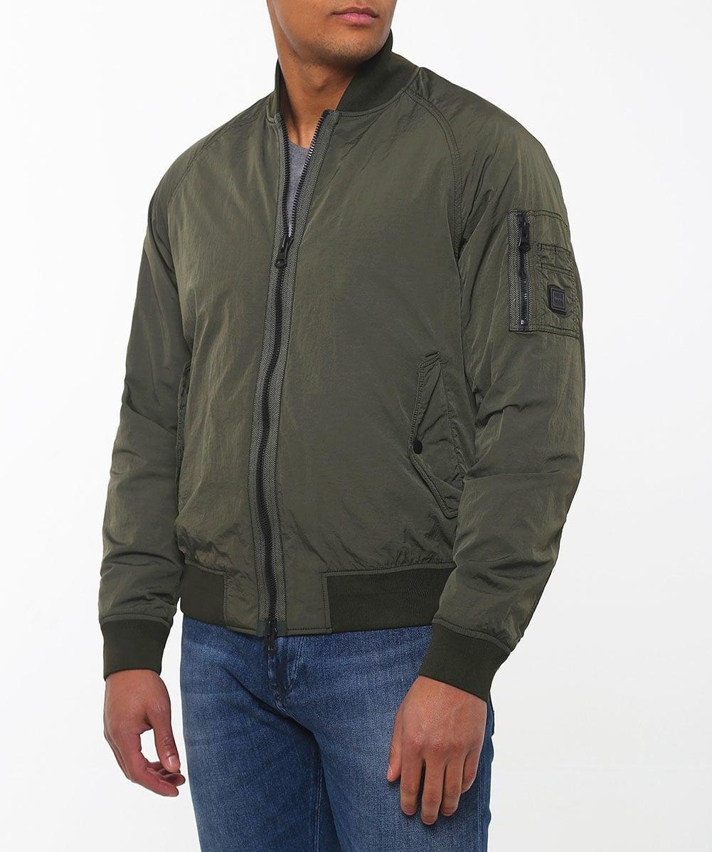 hugo boss navy bomber jacket