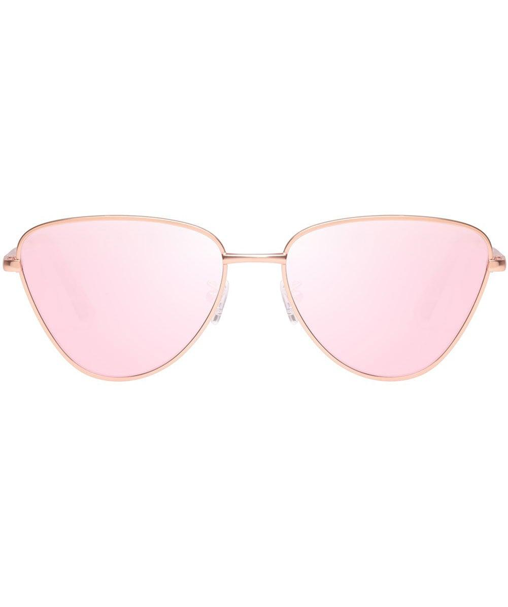 951bb6e9348 Le Specs Echo Sunglasses in Pink - Save 20.3125% - Lyst