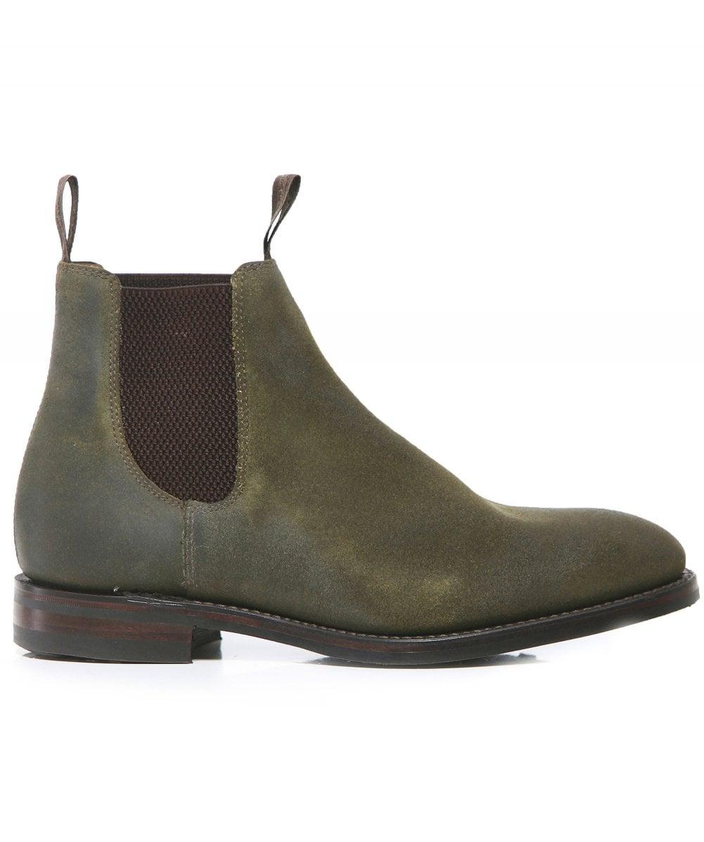 Loake Waxed Suede Chatsworth Chelsea