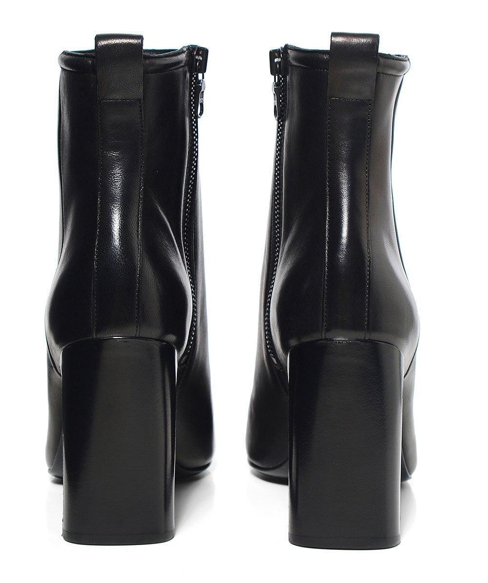 Rag & Bone Ellis Leather Ankle Boots in Black