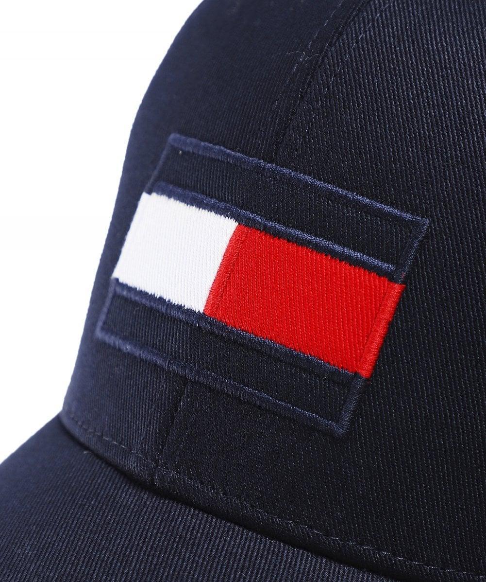 5711ba7e Lyst - Tommy Hilfiger - Spw Flag Cap, Tommy Navy in Blue for Men
