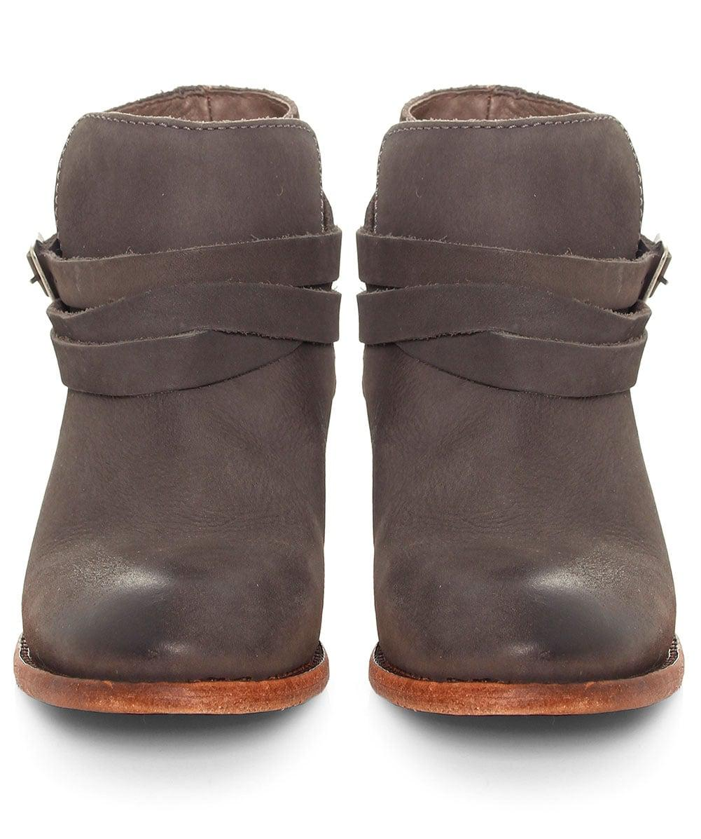 H by Hudson Horrigan Calf Leather Boots in Smoke (Grey)