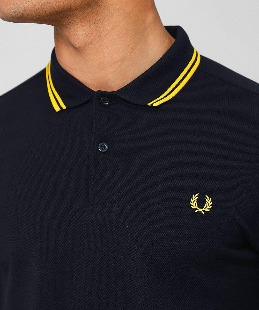 Twin - Tipped Slim Fit Polo Shirt