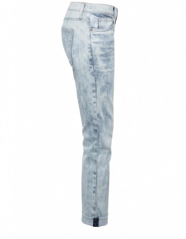 Current/Elliott Denim Cropped Roller Jeans in Blue