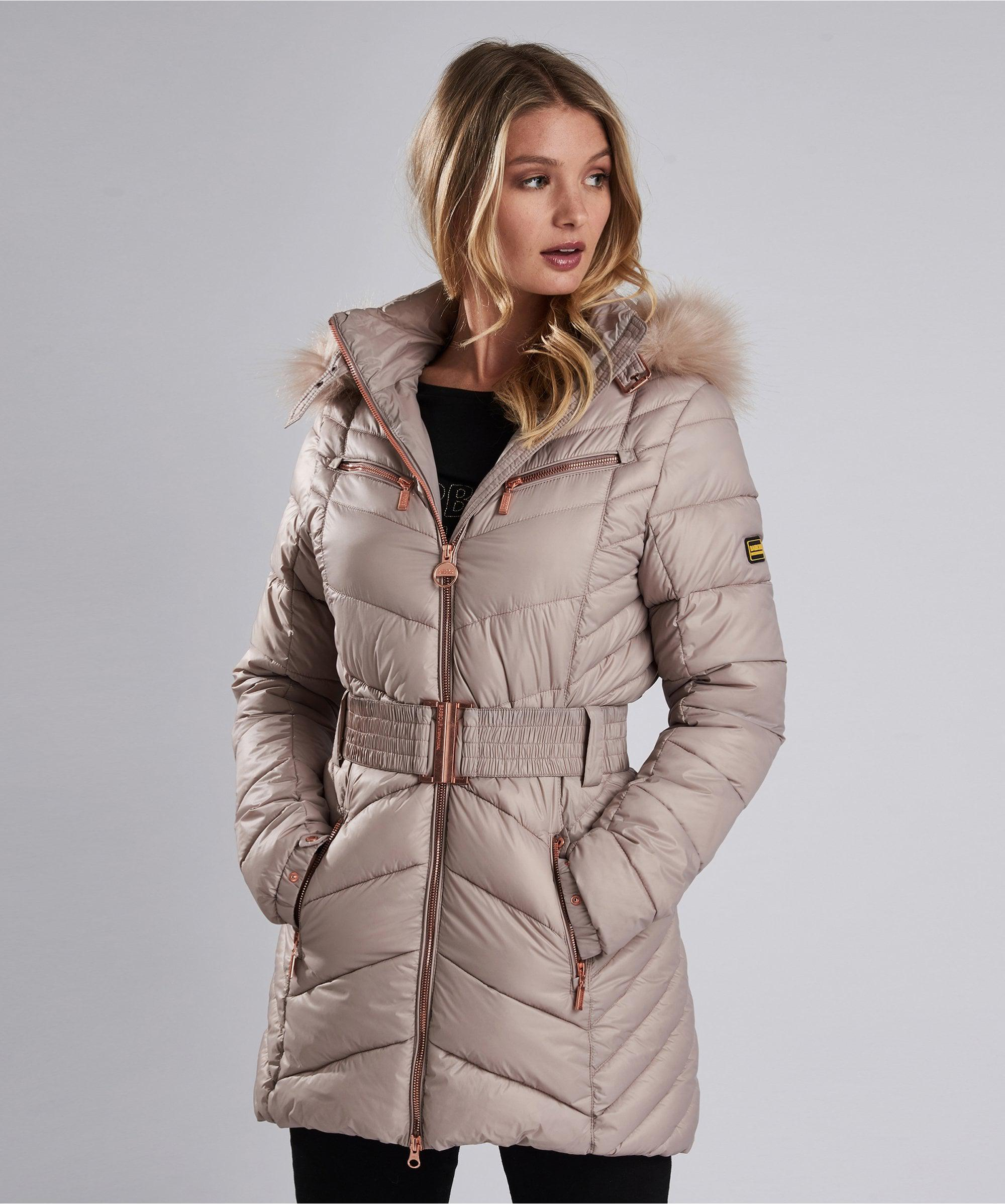 barbour grand quilted jacket