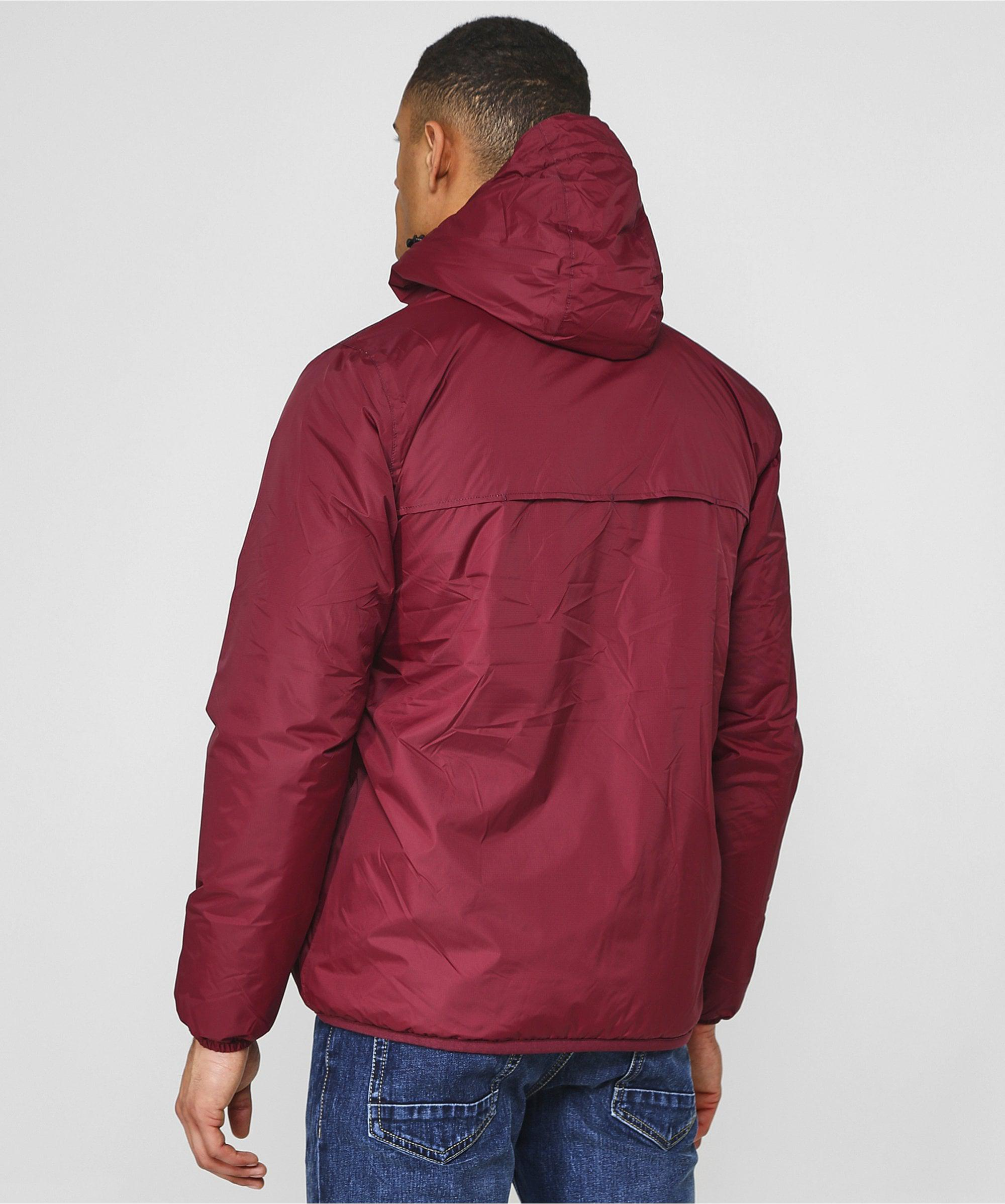 e93ae72f66 K-Way Water Resistant Le Vrai 3.0 Claude Orsetto Jacket in Red for ...