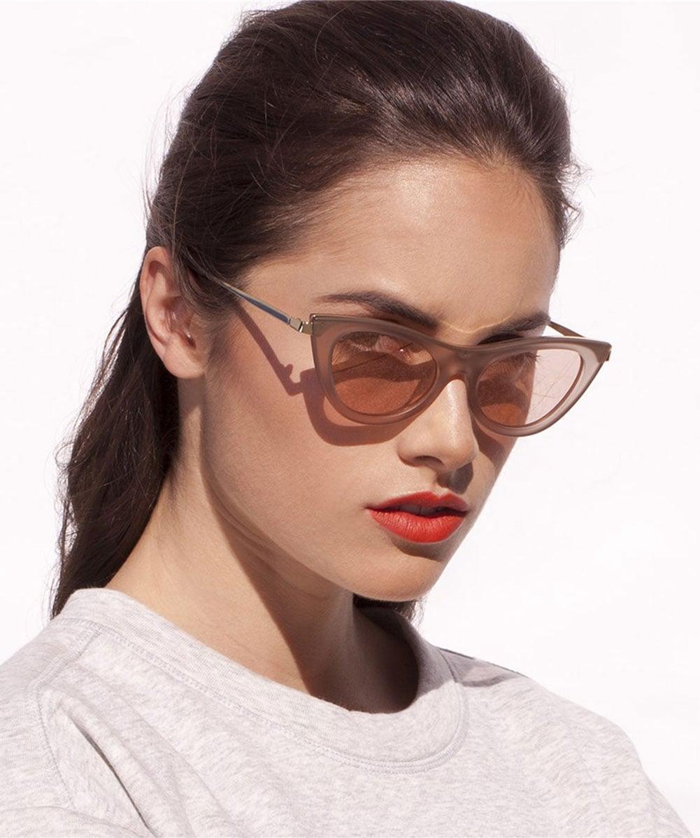 0f14f78afe Lyst - Le Specs Enchantress Sunglasses