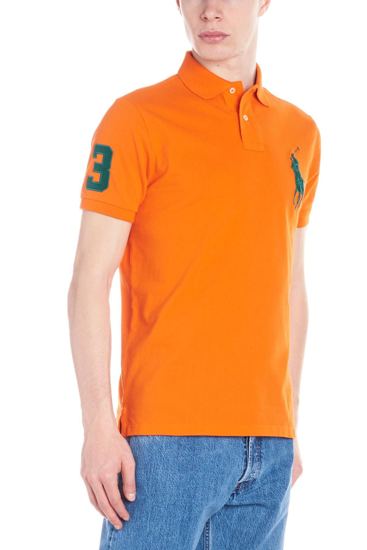 Lyst - Polo Ralph Lauren  big Pony Player  Polo in Orange for Men 9a0270f3a9eb8