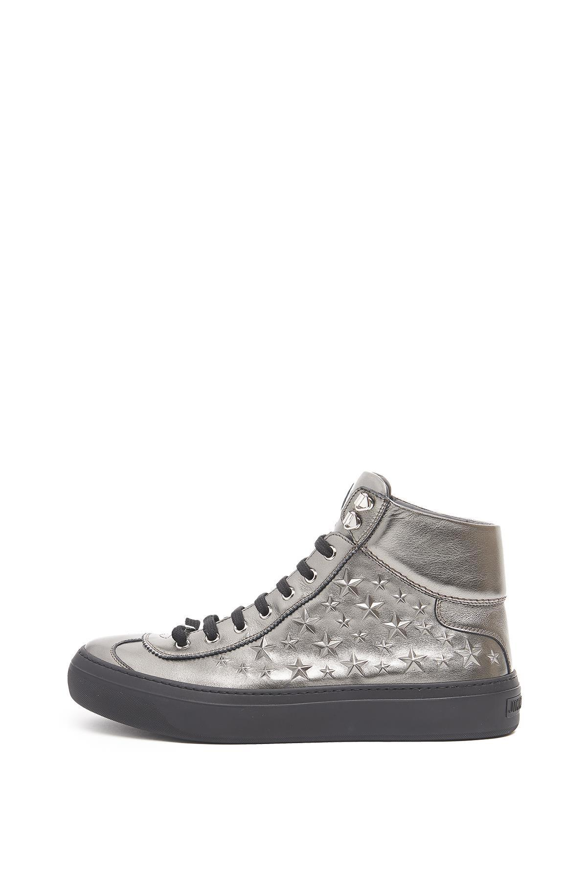 77c5e42ebf50 Lyst - Jimmy Choo  argyle  Sneakers in Gray for Men