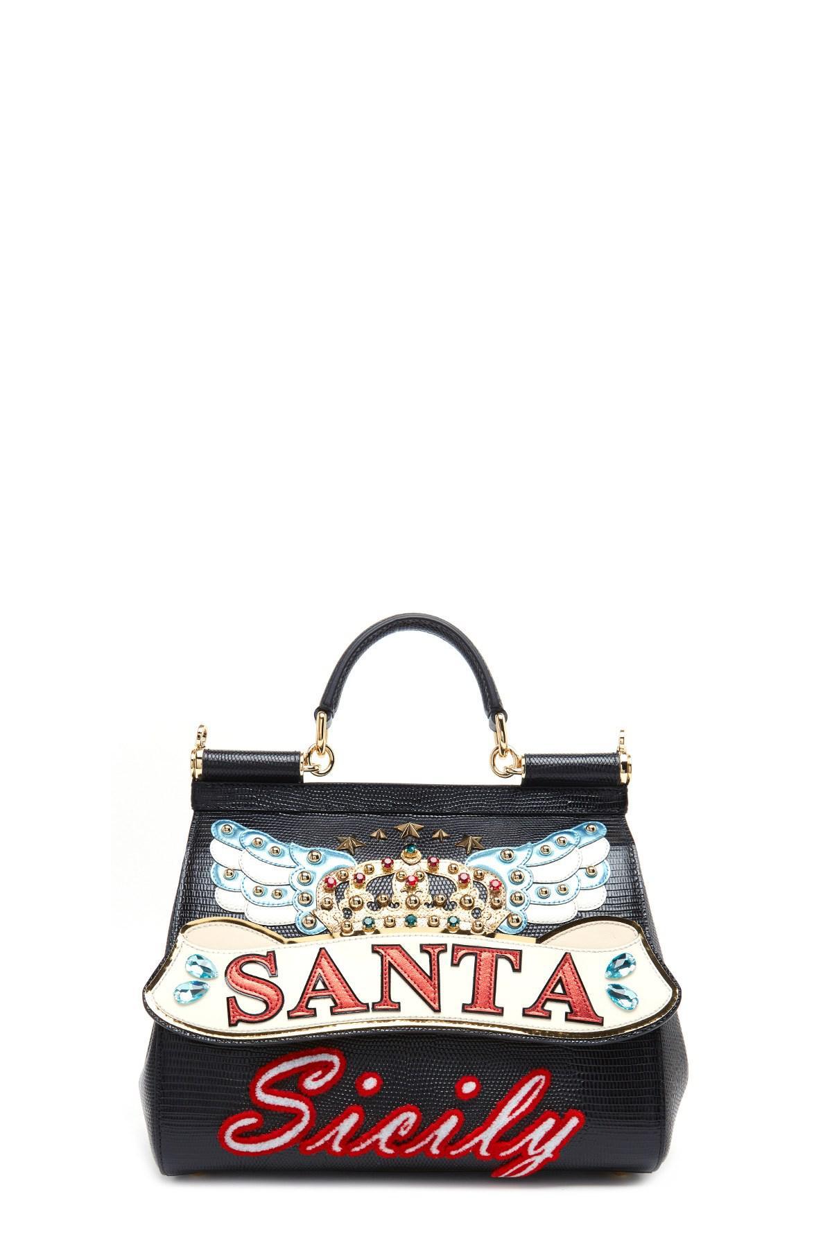 18d330ae3a Lyst - Dolce   Gabbana  sicily  Hand Bag