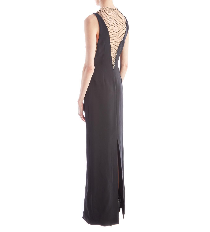 Lyst - Stella mccartney Naomi Black Evening Gown in Black