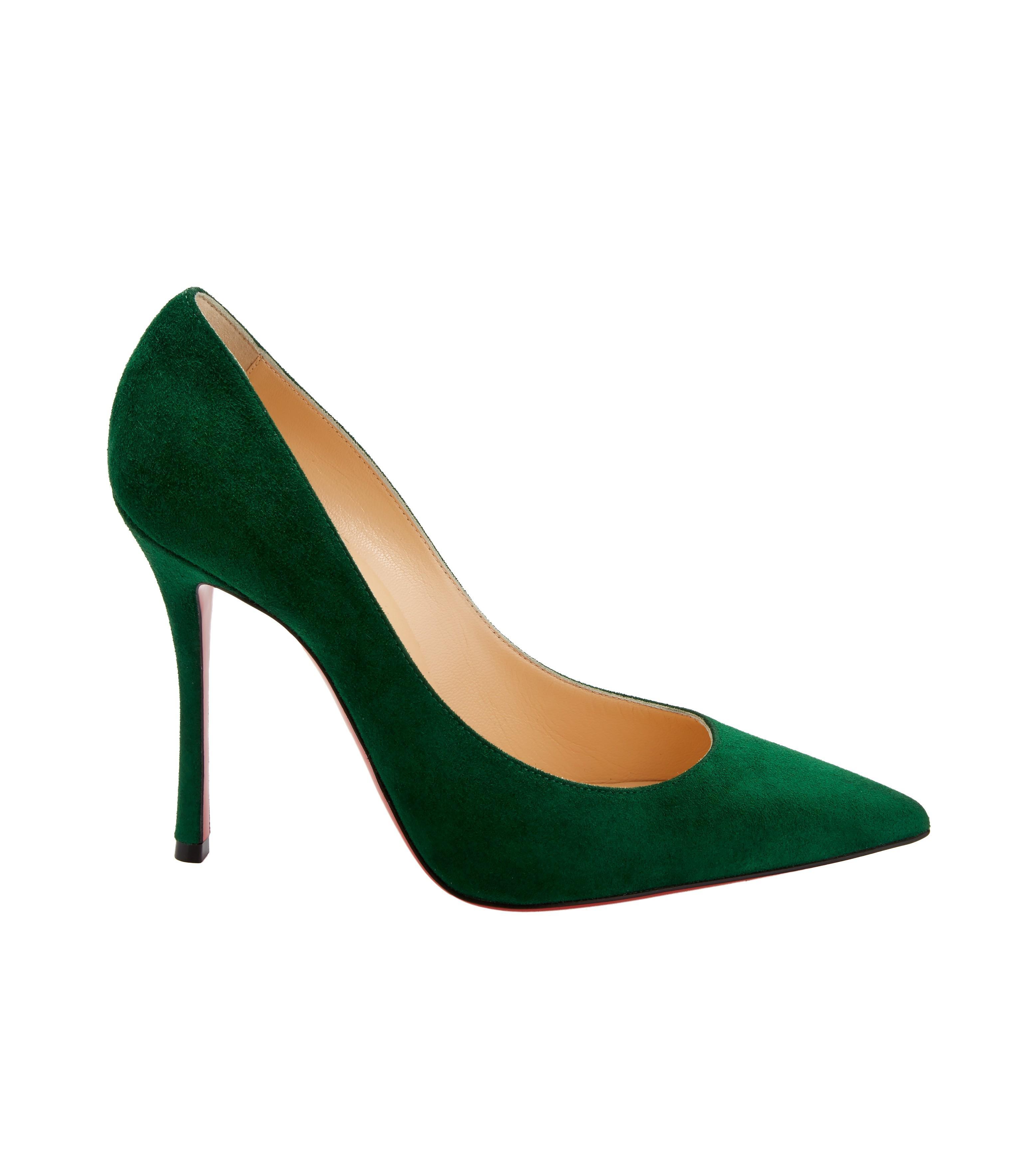 quality design e6ed6 b7ac5 Women's Decoltish Jungle Green Suede Pumps