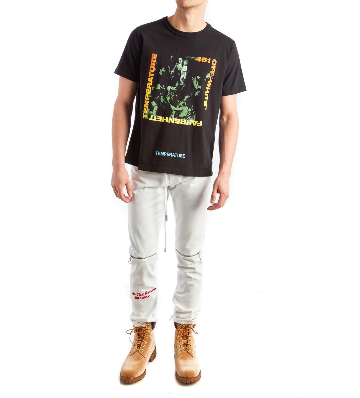 0d3c5be8d28b Lyst - Off-White c o Virgil Abloh Gradient Caravaggio T-shirt in ...