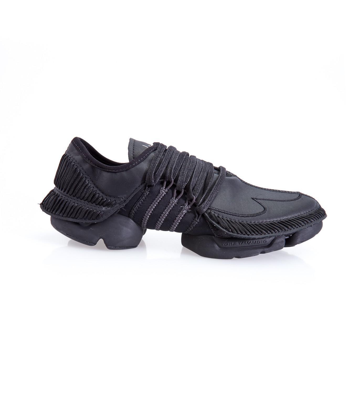 1e5f5b2417993 Lyst - Yohji Yamamoto Takusan Black Low Top Sneakers in Black