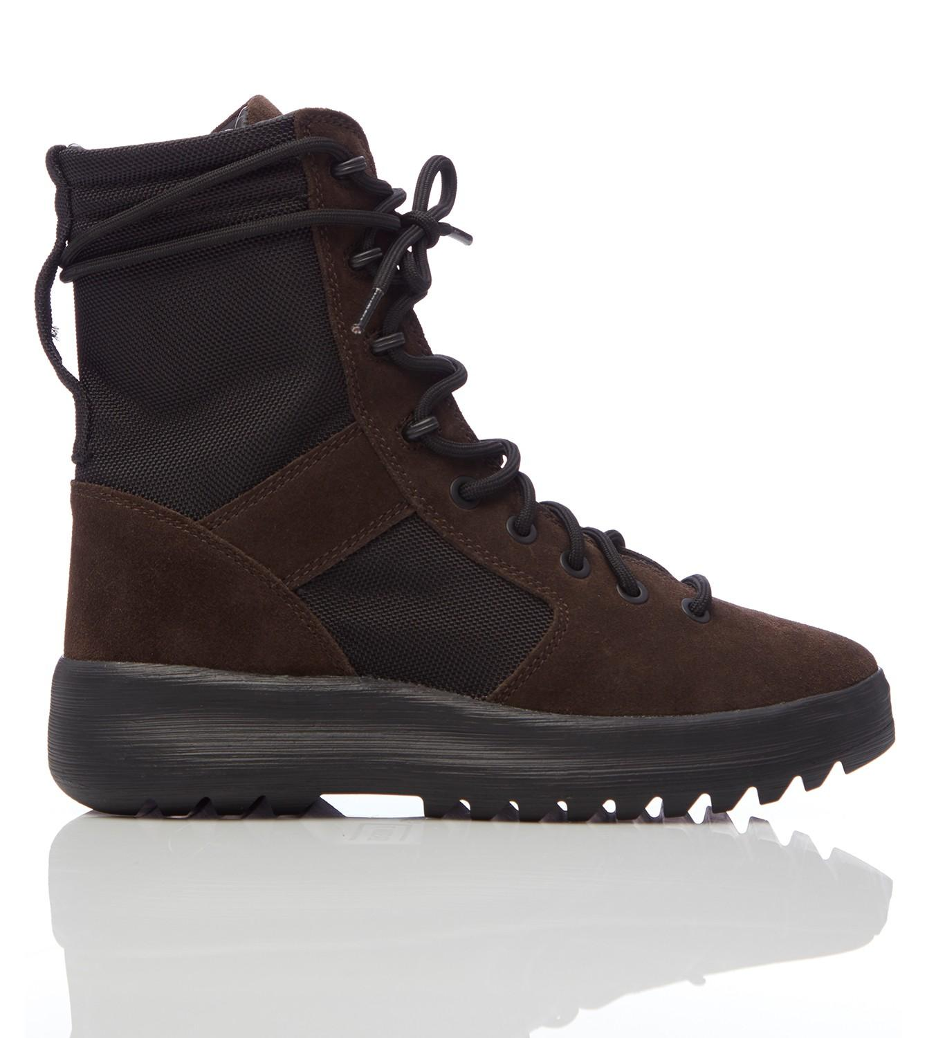 1cfb5ea78f3ac Lyst - Yeezy Season 7 Military Boots in Black for Men