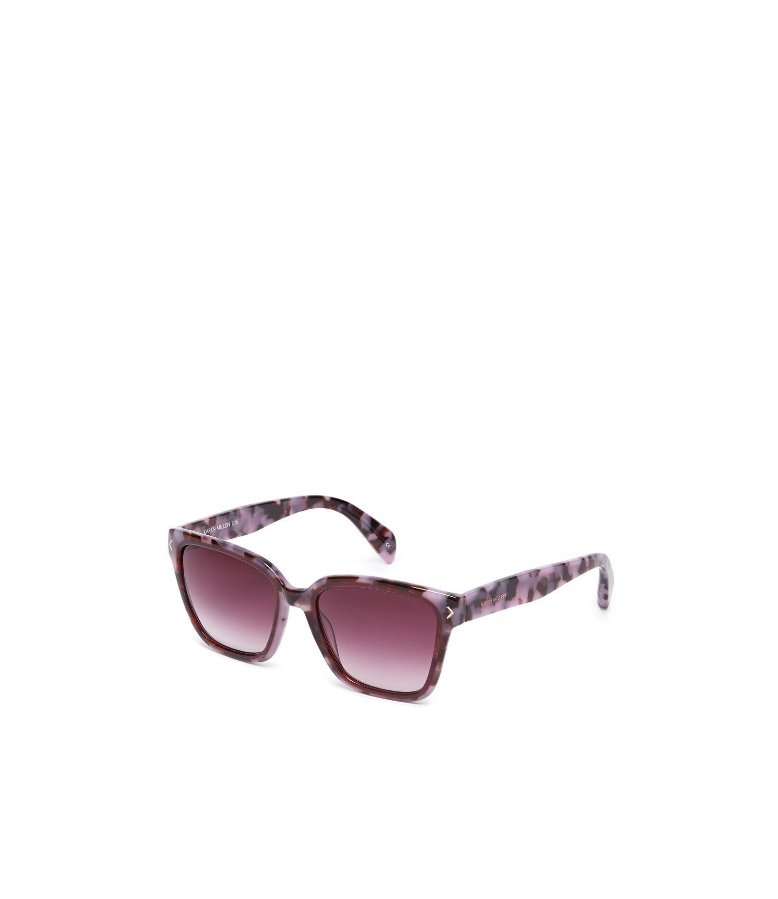 75a3dc3bcc Lyst - Karen Millen Deep Square Sunglasses in Pink
