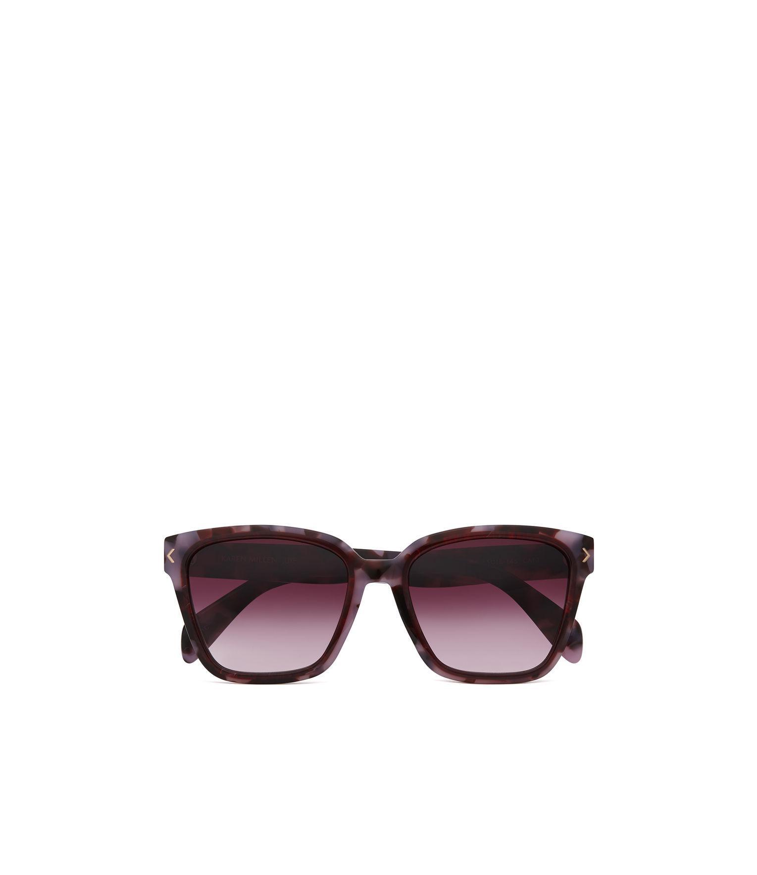 Karen Millen Synthetic Deep Square Sunglasses in Pink