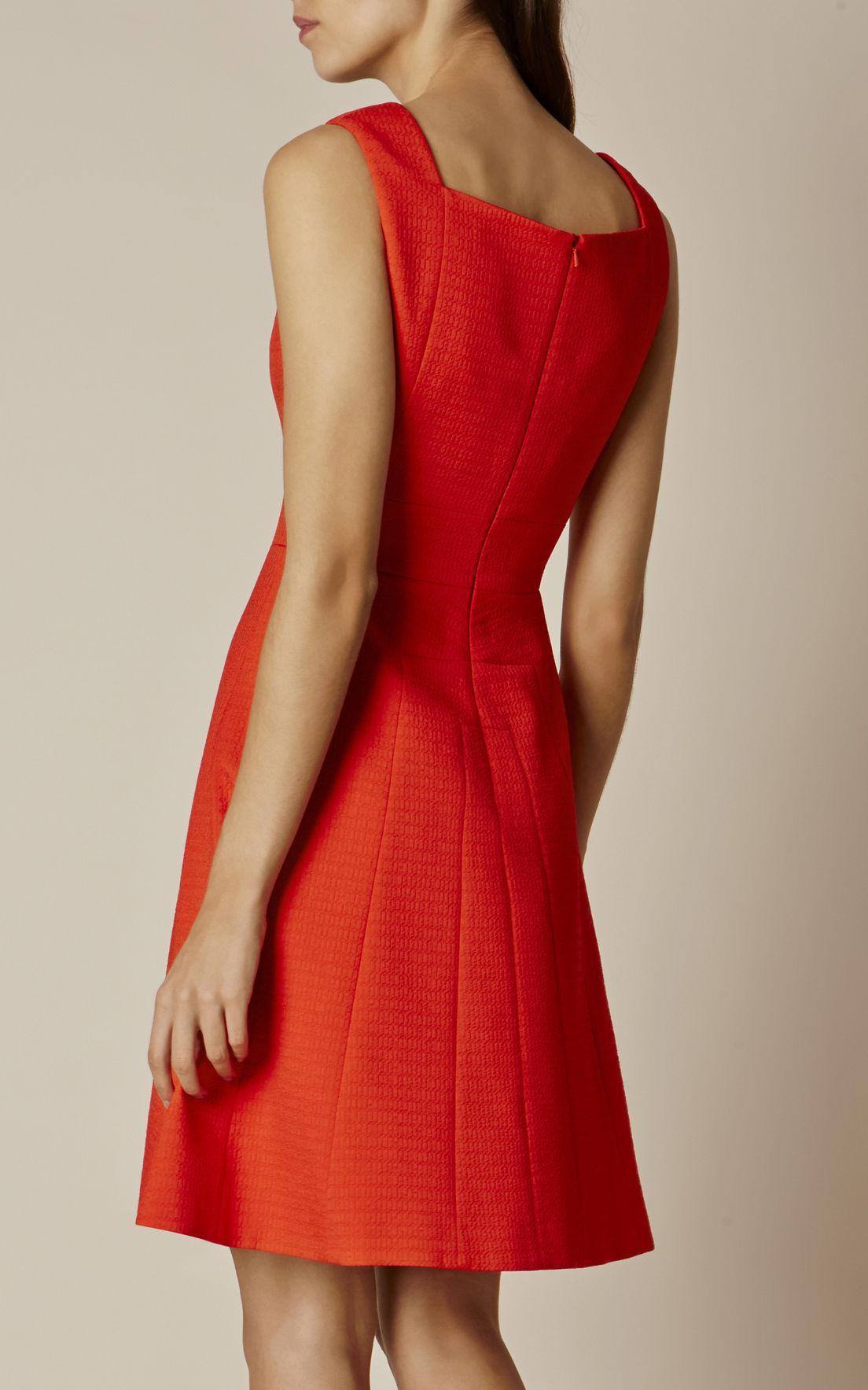 Lyst - Karen Millen Full-skirted Mini Dress