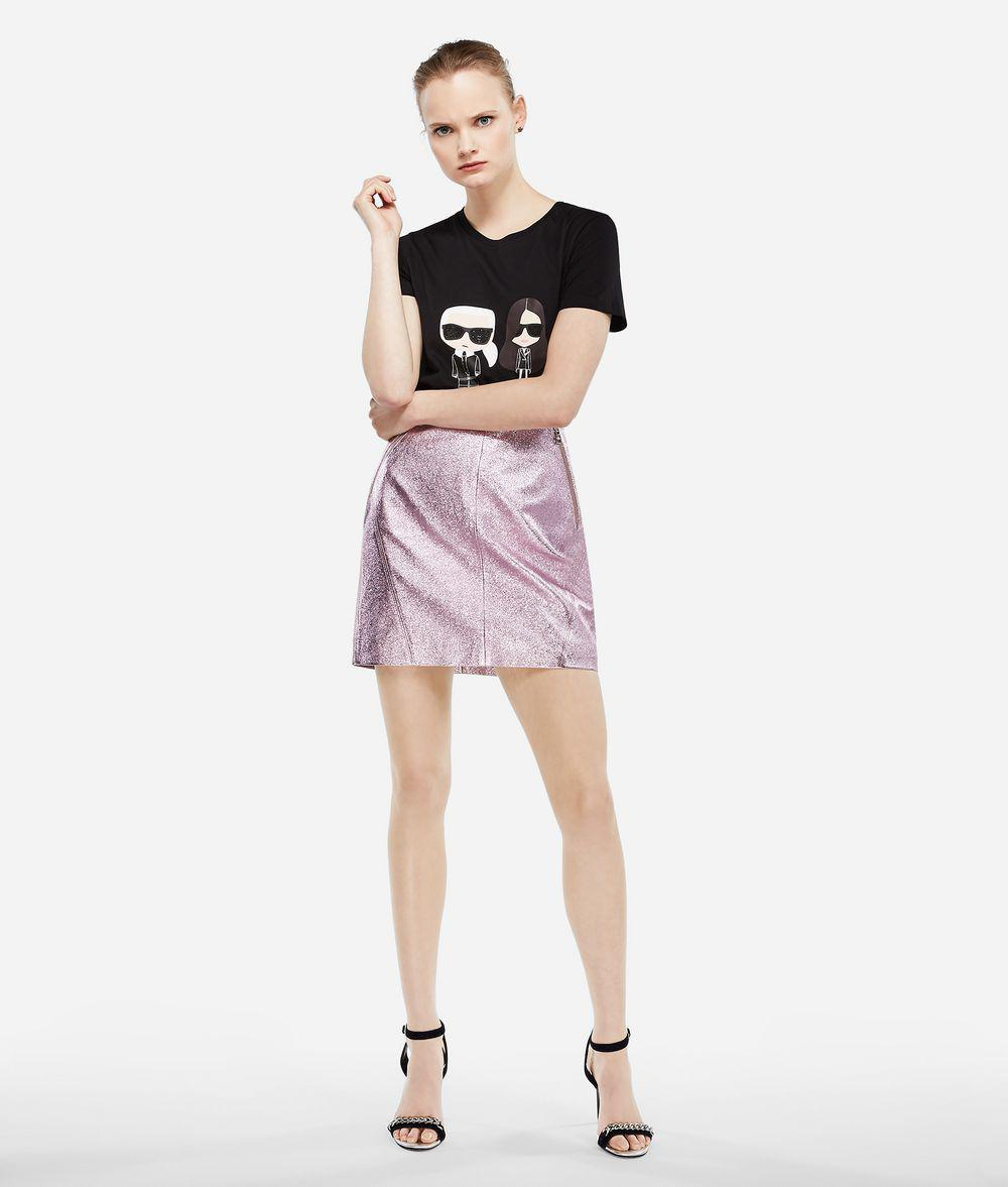 7cac89c4 Karl Lagerfeld Karl X Kaia Ikonik T-shirt in Black - Lyst