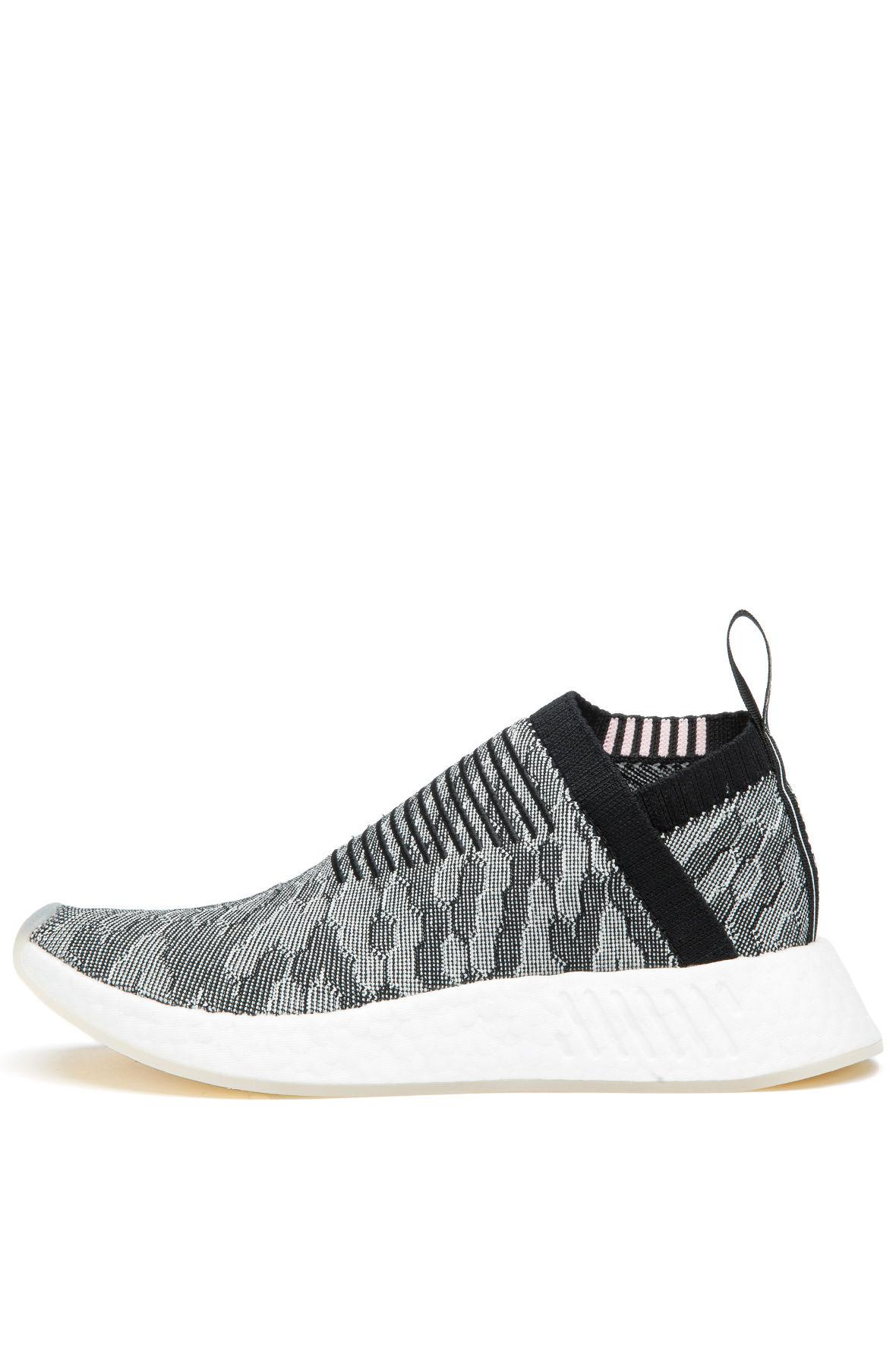 buy popular 0c38c 56055 Lyst - Adidas The Womens Nmdcs2 Primeknit In Black And Wonde
