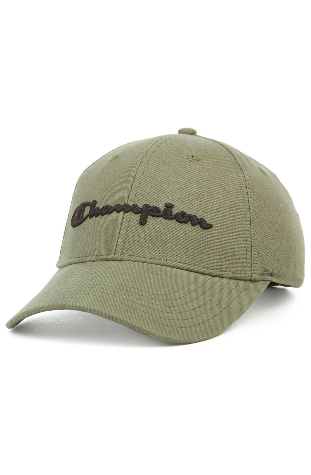 650d6a56304 Lyst - Champion The Logo Twill Dad Hat In Cargo Olive in Green for Men