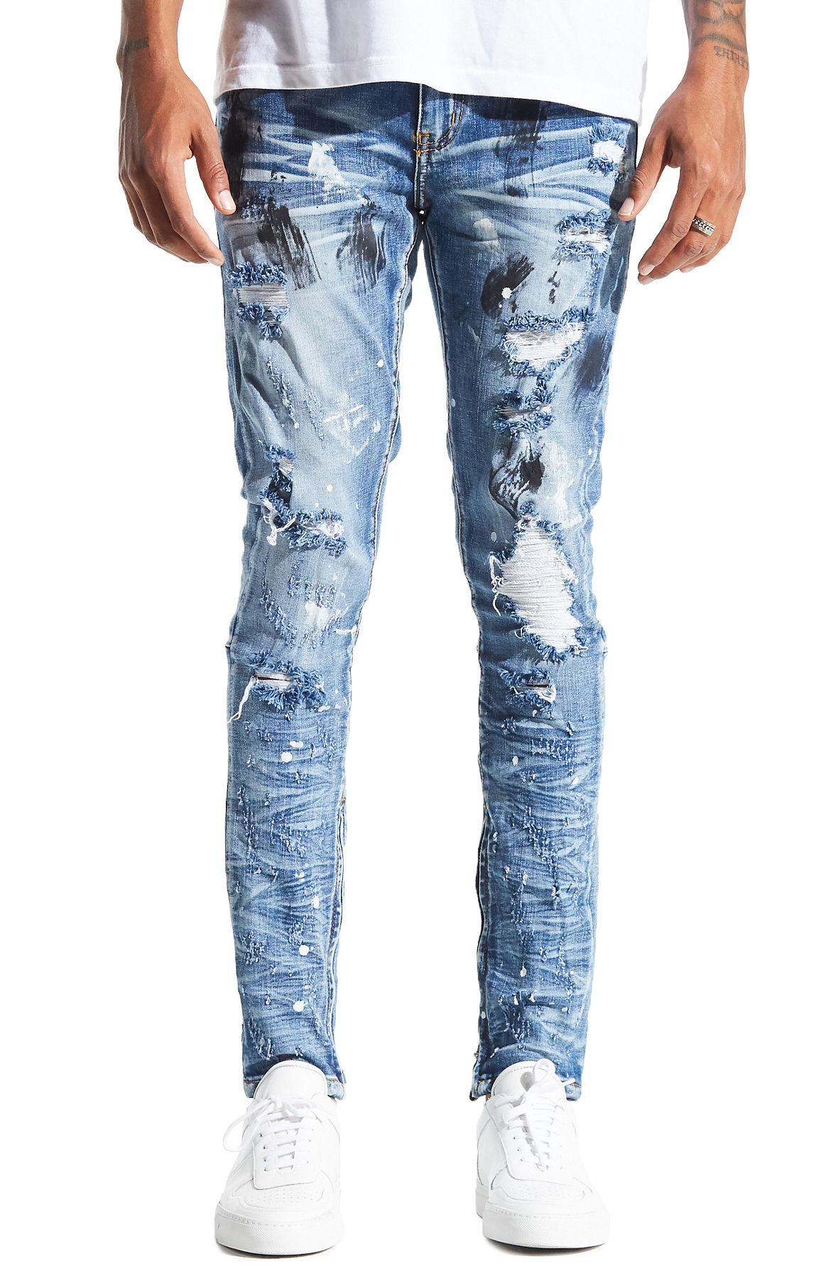 d2f30cee85 Lyst - CRYSP The Pacific Denim In Spring Blue in Blue for Men