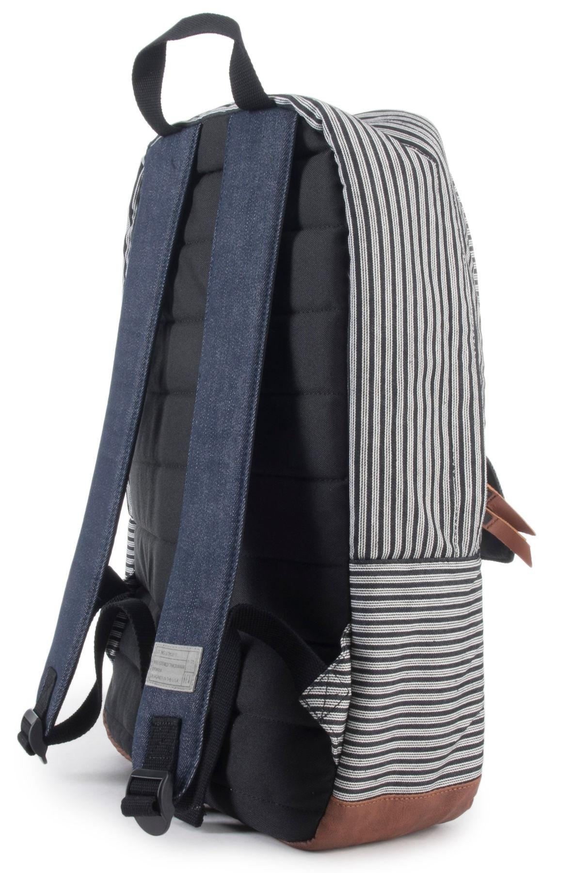 Backpack Hex Stripe Blue Lyst The And Echo Denim Stinson In in aOtZ7nO