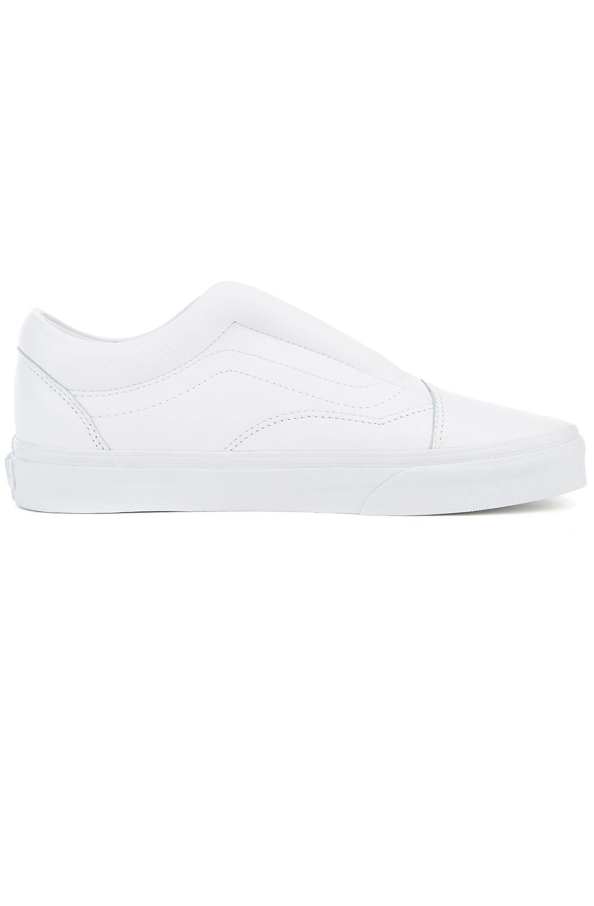 e6299a15681e Lyst - Vans The Women s Old Skool Laceless Dx in White