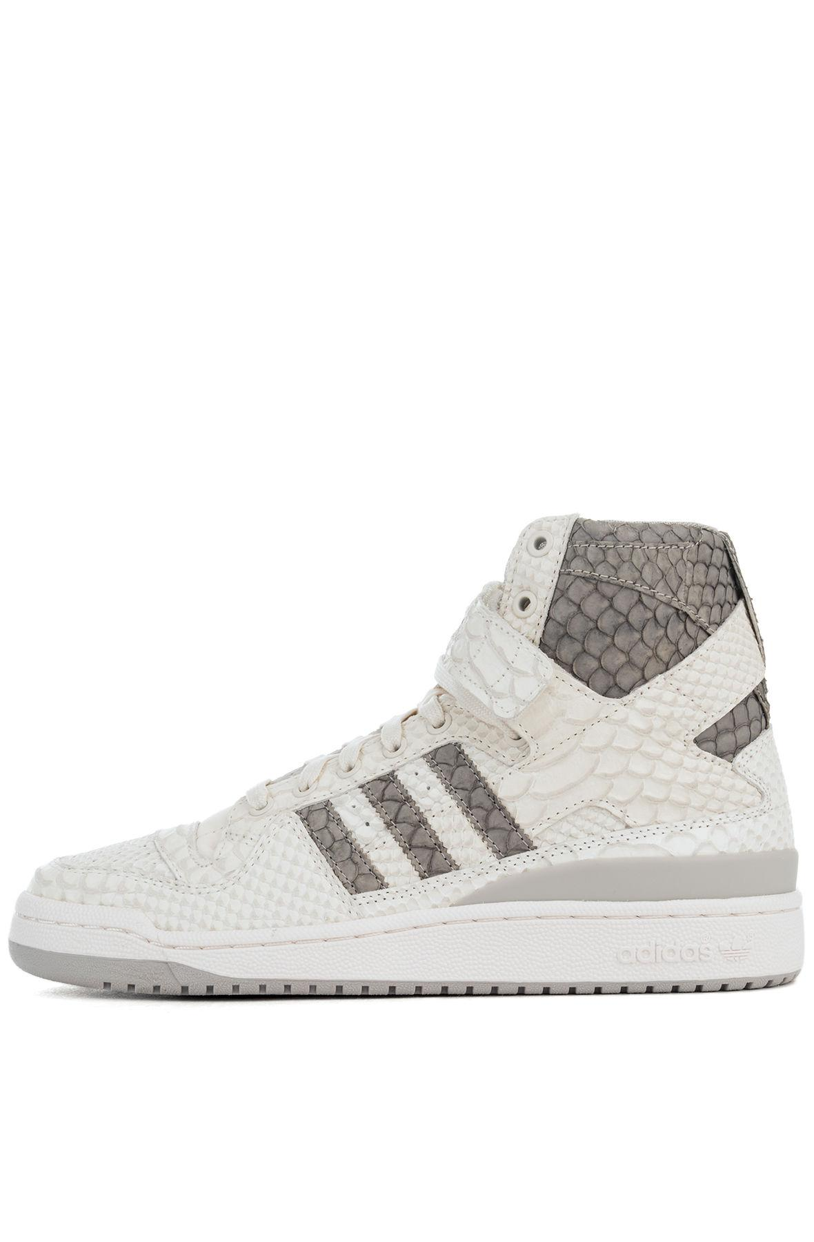 los angeles 71d32 fe755 Lyst - Adidas Originals The Forum Hi Og in White for Men